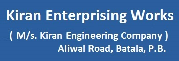 Kiran Enterprising Works (Unit of Kiran Engineering Company Aliwal Road Batala P. B.)