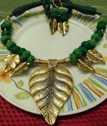 Green Handmade Tribal jewellery
