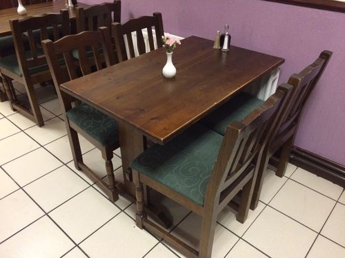 Restaurant Table Chair Set At Rs Set Cafe Tables And - Restaurant table and chair sets
