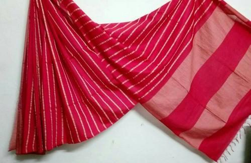 Linen And Gitcha Saree