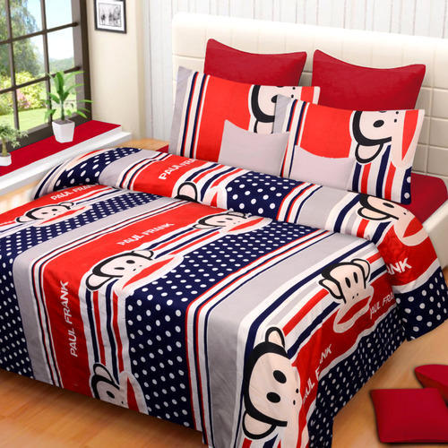 Low Price Glace Cotton Bed Sheet