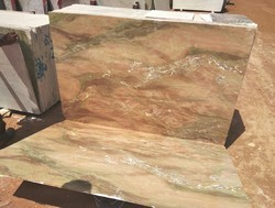 Bhutra Imported Marble Red Katni Onyx Marble, Application Area: Countertops