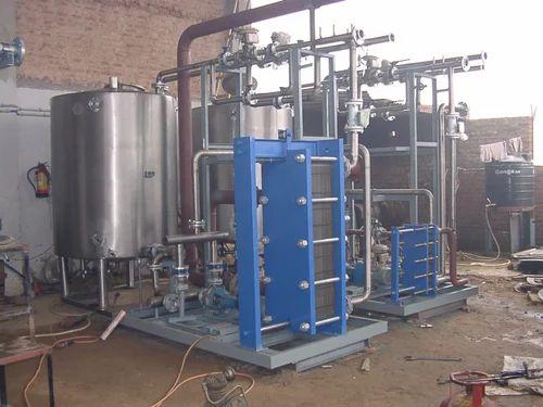 Plate Heat Exchanger Sugar Syrup Cooler Phe Manufacturer