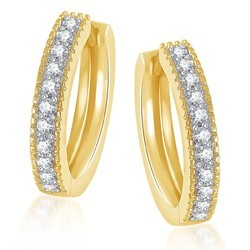 Gold CZ Sania Ring