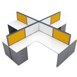 L Shape Office Workstation