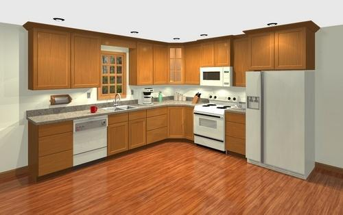 Kitchen Wood Work, Interior Wood Work - C.r. Electricals ...