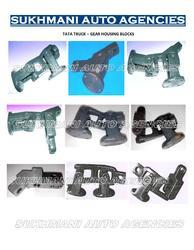tata truck gear housing block
