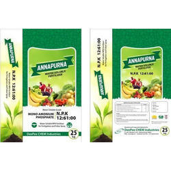 NPK : 12-61-00 Water Soluble Fertilizer