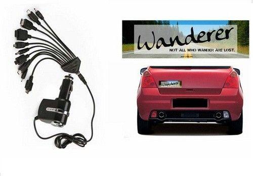 Speedwav car bumper sticker wanderer titoni 11 in 1 c