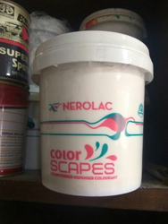 Soft Sheen Nerolac Color Scapes, For Interior Walls, Packaging Size: 20 L
