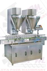 Automatic Double Head Dry Powder Filling Machine