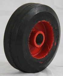 Half Moulded Rubber Wheel 6 x 2
