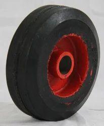 Half Moulded Rubber Wheel 6 x 2