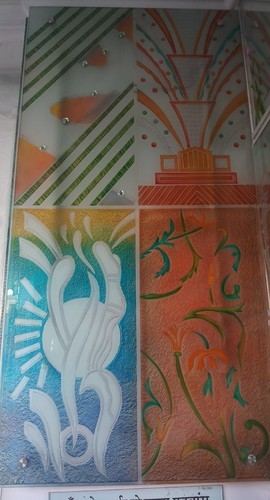 47f6f1be042e Crystal Acid Work   Back Paint Window Design Glass Manufacturer from Udaipur