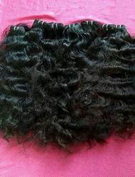 Curly Weft Hair
