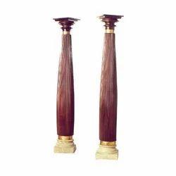 Brown Antique Rosewood Pillars