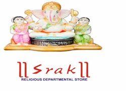 Dust Marble Ridhi Sidhi Ganesh Statue