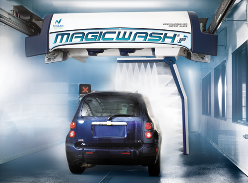 MagicWash 360 - Touch Free Automatic Car Wash System