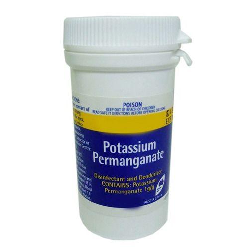 lorazepam potassium permanganate