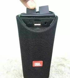 Blue And Red JBL Bluetooth Speakers