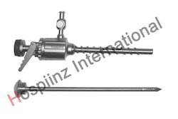 6mm Trocar - Threated Cannula