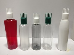 Comb Cap Bottle Pet