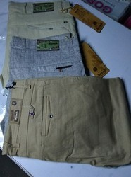 Regular Cotton Mens Pant