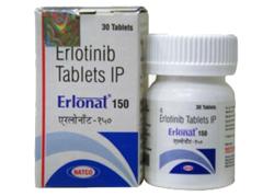 Erlonat 150 mg Erlotinib Tablet
