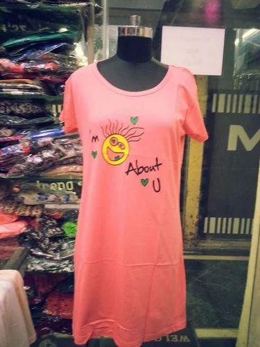 e2edc7088e8 Ladies Long T Shirt