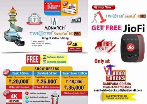 Twister Scene Cut HD Pro | Video Tracks Company | Service Provider