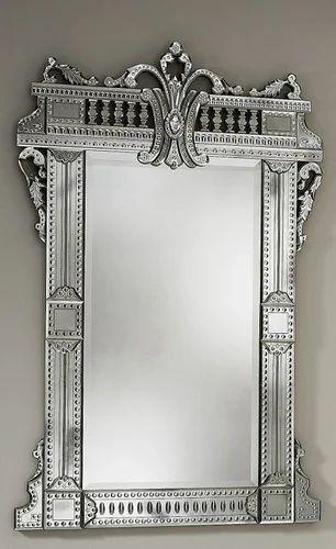 Dom Glass Venetian Wall Mirror Rs 120 Square Feet Dom Glass Brand Of Diamond Overseas Marketing Id 11313804330