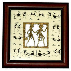 Warli Dhokra Art Painting Wall Decor