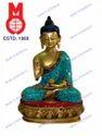 B Buddha Sitting B/hand W/ Stone Work