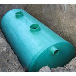 Industrial FRP Septic Tank