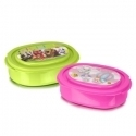 Carry Plastic Round Lunch Box, For Home