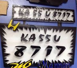 Number Plates Manufacturers Suppliers Wholesalers