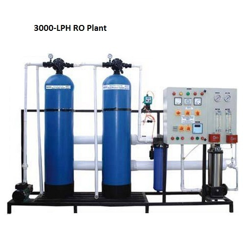 Commercial Ro Systems 3000 Lph Ro Plant Manufacturer