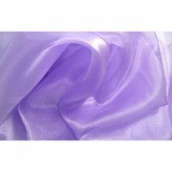 2d564ca5a2fda Light Purple Plain Organza Silk Fabric