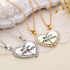 heart two piece love chain locket at rs 70 no katerpuri road