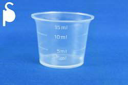 15ml Bell Shaped Measuring Cup with 2.5ml Marking
