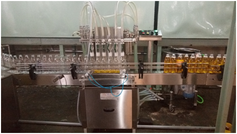 FILSILPEK Edible Oil Filling Machine, Capacity: 50 Ml To 1000ml, 1-2 Hp