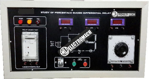 Transformers Protection Study Unit Using % Baised Diff Relay