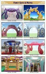 Wedding Decoration Gate Service, for Outdoor Use