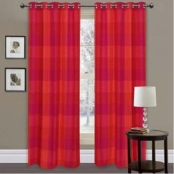 Red Designer Curtains