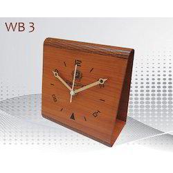 Wooden Desktop Clock