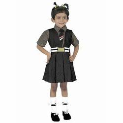 Nylon Girls School Uniforms, Size: Medium