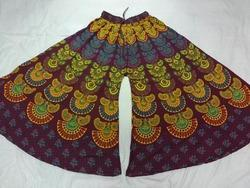 Cotton Divider Skirt