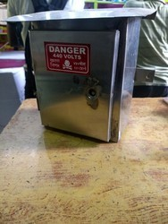 ADEC Steel Electrical Pole Box, Size: 8x6x4, Packaging Type: Each