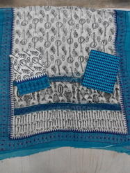 Hand Blog Print Suit