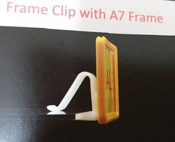 A 7 Price Frame with Clip